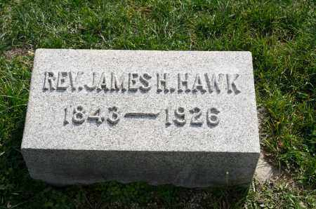 HAWK, REV. JAMES H. - Carroll County, Ohio | REV. JAMES H. HAWK - Ohio Gravestone Photos