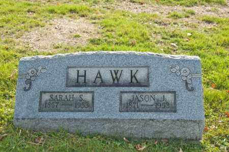 BLAZER HAWK, SARAH SALINA - Carroll County, Ohio | SARAH SALINA BLAZER HAWK - Ohio Gravestone Photos