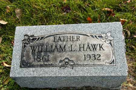 HAWK, WILLIAM L. - Carroll County, Ohio | WILLIAM L. HAWK - Ohio Gravestone Photos