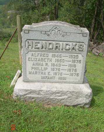 HENDRICKS, ANNA R - Carroll County, Ohio | ANNA R HENDRICKS - Ohio Gravestone Photos
