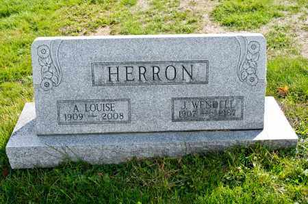 HERRON, A. LOUISE - Carroll County, Ohio | A. LOUISE HERRON - Ohio Gravestone Photos