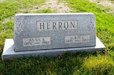 SHOTWELL HERRON, ANNA BELL - Carroll County, Ohio | ANNA BELL SHOTWELL HERRON - Ohio Gravestone Photos