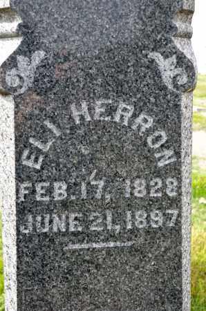 HERRON, ELI - Carroll County, Ohio | ELI HERRON - Ohio Gravestone Photos