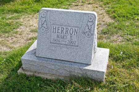 HERRON, MARY HELEN - Carroll County, Ohio | MARY HELEN HERRON - Ohio Gravestone Photos