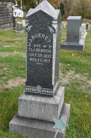 HERRON, MARGARET A. - Carroll County, Ohio | MARGARET A. HERRON - Ohio Gravestone Photos