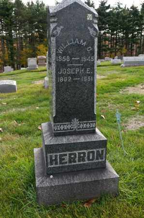 HERRON, WILLIAM C. - Carroll County, Ohio | WILLIAM C. HERRON - Ohio Gravestone Photos