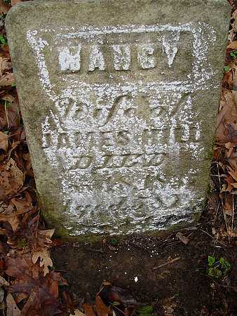 HILL, NANCY [THIRD VIEW] - Carroll County, Ohio | NANCY [THIRD VIEW] HILL - Ohio Gravestone Photos