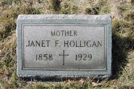 HOLLIGAN, JANET F. - Carroll County, Ohio | JANET F. HOLLIGAN - Ohio Gravestone Photos