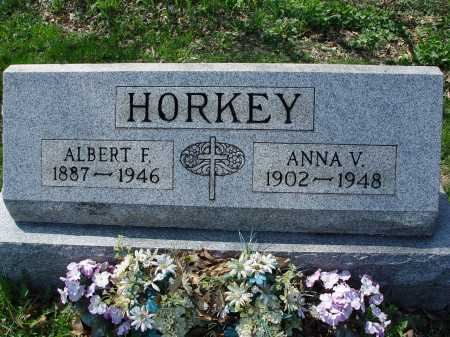HORKEY, ANNA VIRGINIA - Carroll County, Ohio | ANNA VIRGINIA HORKEY - Ohio Gravestone Photos