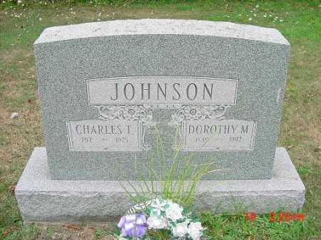 JOHNSON, CHARLES T. MONUMENT - Carroll County, Ohio | CHARLES T. MONUMENT JOHNSON - Ohio Gravestone Photos