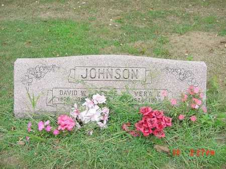 JOHNSON, VERA E. MONUMENT - Carroll County, Ohio | VERA E. MONUMENT JOHNSON - Ohio Gravestone Photos