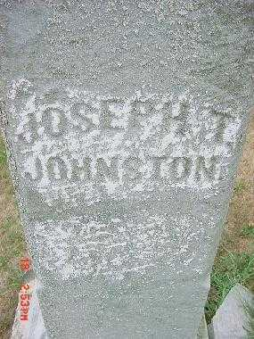 JOHNSON, JOSEPH T. - Carroll County, Ohio | JOSEPH T. JOHNSON - Ohio Gravestone Photos