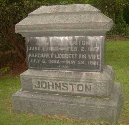 JOHNSTON, JOHN N - Carroll County, Ohio | JOHN N JOHNSTON - Ohio Gravestone Photos
