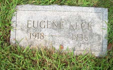 KECK, EUGENE - Carroll County, Ohio   EUGENE KECK - Ohio Gravestone Photos