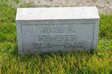 KEMERER, PAUL HOWARD - Carroll County, Ohio | PAUL HOWARD KEMERER - Ohio Gravestone Photos