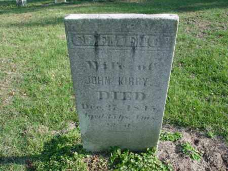 KIRBY, CLEMENCY - Carroll County, Ohio | CLEMENCY KIRBY - Ohio Gravestone Photos