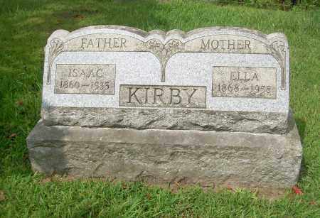 KIRBY, ELLA - Carroll County, Ohio | ELLA KIRBY - Ohio Gravestone Photos