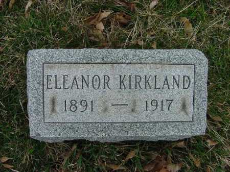 KIRKLAND, ELEANOR - Carroll County, Ohio | ELEANOR KIRKLAND - Ohio Gravestone Photos