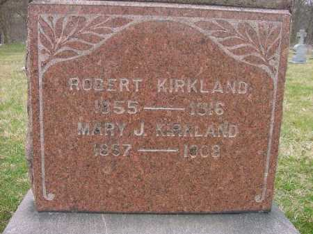 KIRKLAND, MARY J. - Carroll County, Ohio | MARY J. KIRKLAND - Ohio Gravestone Photos