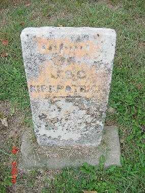 KIRKPATRICK, INFANT - Carroll County, Ohio | INFANT KIRKPATRICK - Ohio Gravestone Photos