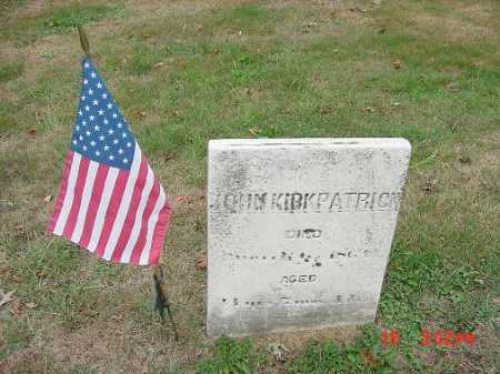 KIRKPATRICK, JOHN - Carroll County, Ohio | JOHN KIRKPATRICK - Ohio Gravestone Photos