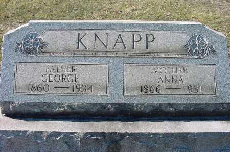 KNAPP, MONUMENT - Carroll County, Ohio | MONUMENT KNAPP - Ohio Gravestone Photos