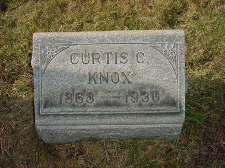 KNOX, CURTIS C. - Carroll County, Ohio | CURTIS C. KNOX - Ohio Gravestone Photos