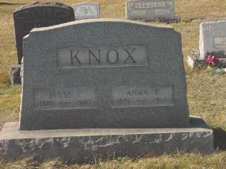 KNOX, ANNA Z. - Carroll County, Ohio | ANNA Z. KNOX - Ohio Gravestone Photos