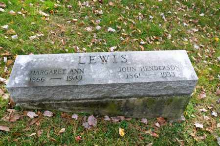LEWIS, MARGARET ANN - Carroll County, Ohio | MARGARET ANN LEWIS - Ohio Gravestone Photos