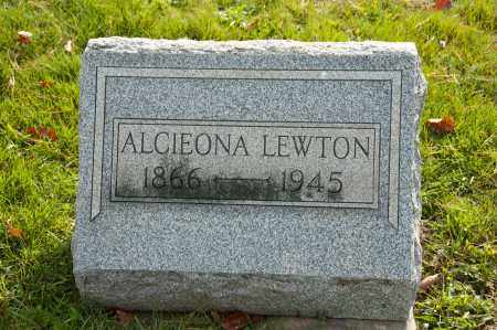 MAPLE LEWTON, ALCIEONA - Carroll County, Ohio | ALCIEONA MAPLE LEWTON - Ohio Gravestone Photos