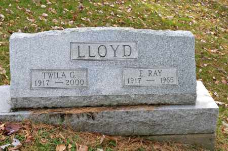 LLOYD, TWILA G. - Carroll County, Ohio | TWILA G. LLOYD - Ohio Gravestone Photos