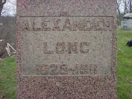 LONG, ALEXANDER - Carroll County, Ohio | ALEXANDER LONG - Ohio Gravestone Photos