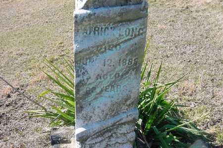 LONG, PATRICK - Carroll County, Ohio | PATRICK LONG - Ohio Gravestone Photos