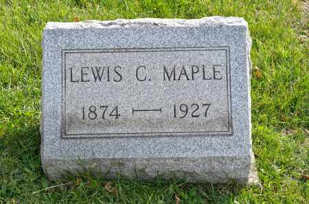 MAPLE, LEWIS C. - Carroll County, Ohio | LEWIS C. MAPLE - Ohio Gravestone Photos