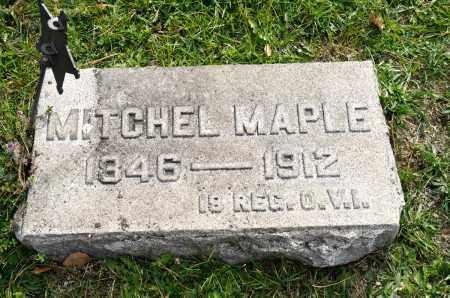 MAPLE, MITCHEL - Carroll County, Ohio | MITCHEL MAPLE - Ohio Gravestone Photos