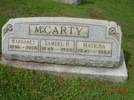 MCCARTY, SAMUEL R - Carroll County, Ohio | SAMUEL R MCCARTY - Ohio Gravestone Photos