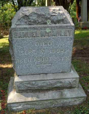 MCCAULEY, SAMUEL - Carroll County, Ohio | SAMUEL MCCAULEY - Ohio Gravestone Photos