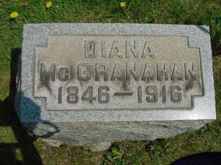 MCGRANAHAN, DIANA - Carroll County, Ohio | DIANA MCGRANAHAN - Ohio Gravestone Photos