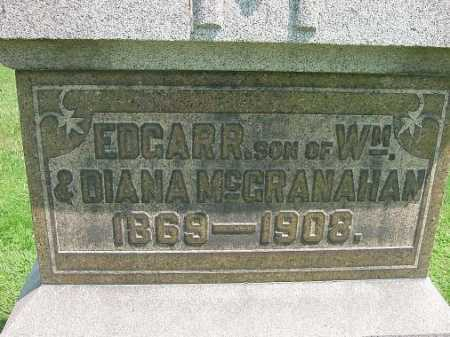 MCGRANAHAN, EDGAR R. - Carroll County, Ohio | EDGAR R. MCGRANAHAN - Ohio Gravestone Photos