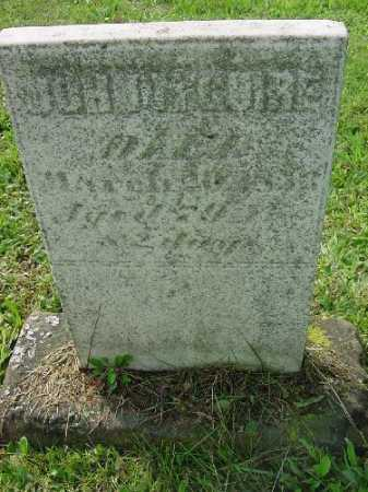 MCGUIRE, JOHN - Carroll County, Ohio | JOHN MCGUIRE - Ohio Gravestone Photos