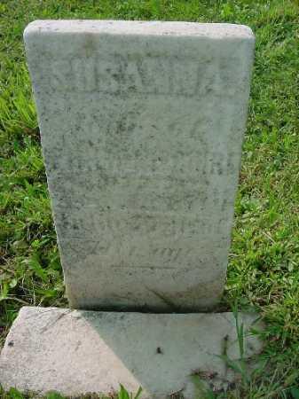 MCGUIRE, SUSANNA - Carroll County, Ohio | SUSANNA MCGUIRE - Ohio Gravestone Photos