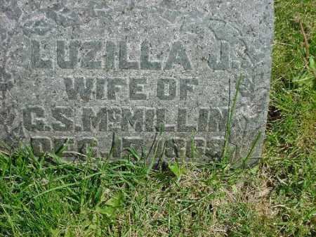MCMILLIN, LUZILLA J. - Carroll County, Ohio | LUZILLA J. MCMILLIN - Ohio Gravestone Photos