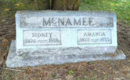 MCNAMEE, SIDNEY - Carroll County, Ohio | SIDNEY MCNAMEE - Ohio Gravestone Photos