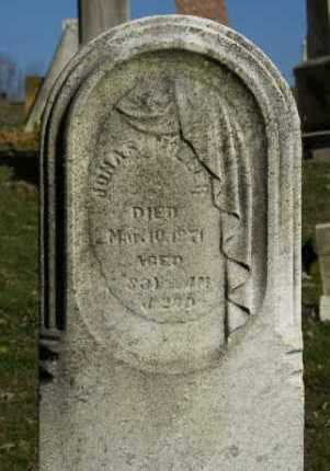 MILLER, JONAS - Carroll County, Ohio | JONAS MILLER - Ohio Gravestone Photos