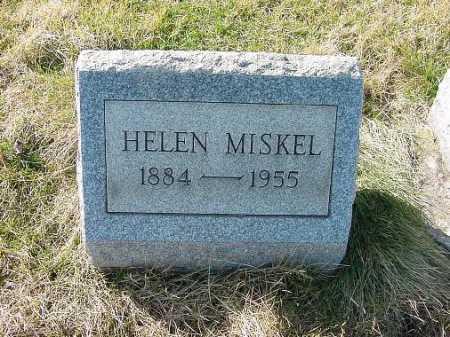 MISKEL, HELEN - Carroll County, Ohio | HELEN MISKEL - Ohio Gravestone Photos