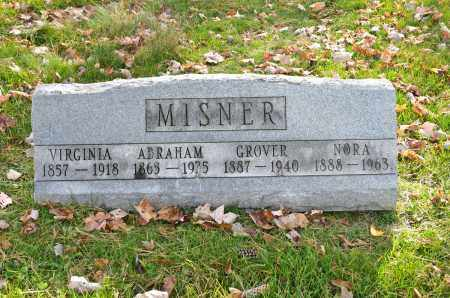 PRINGLE MISNER, VIRGINIA - Carroll County, Ohio | VIRGINIA PRINGLE MISNER - Ohio Gravestone Photos