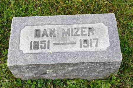 MIZER, DAN - Carroll County, Ohio | DAN MIZER - Ohio Gravestone Photos