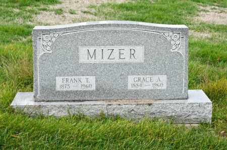 MIZER, GRACE A. - Carroll County, Ohio | GRACE A. MIZER - Ohio Gravestone Photos