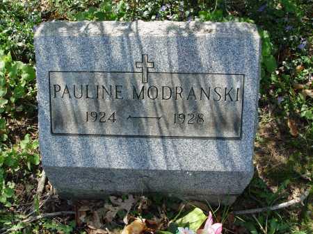 MODRANSKI, PAULINE - Carroll County, Ohio | PAULINE MODRANSKI - Ohio Gravestone Photos