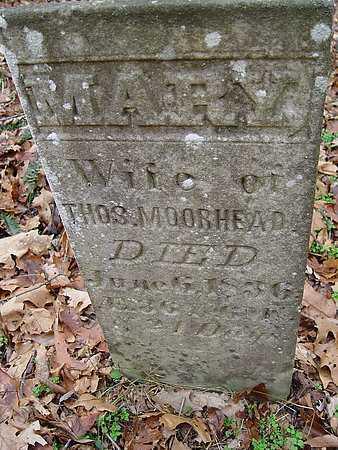 MOOREHEAD, MARY - Carroll County, Ohio | MARY MOOREHEAD - Ohio Gravestone Photos